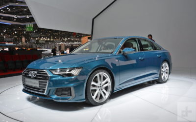 Audi A6: экстерьер и интерьер