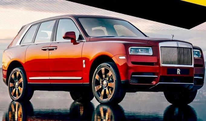 Rolls-Royce Cullinan – кроссовер премиум-бренда