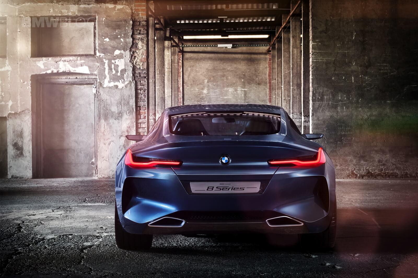 Презентация BMW 8 на гоночной трассе в Ле-Мане