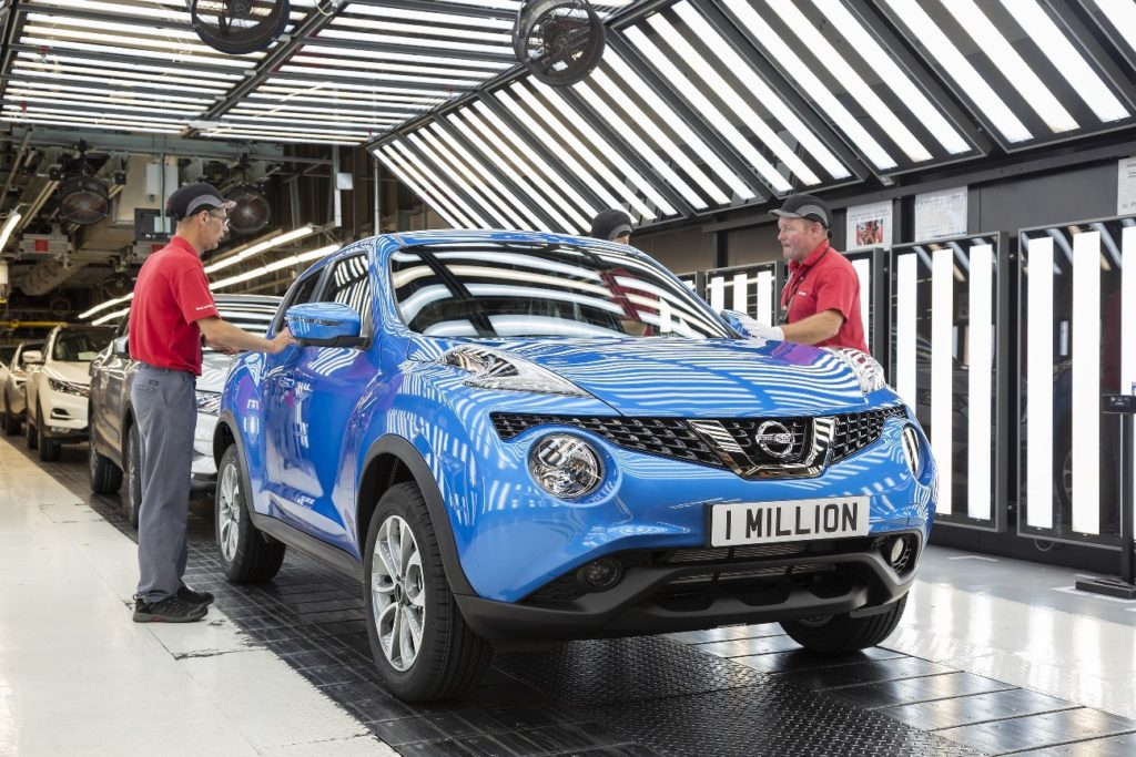Миллионный Nissan Juke