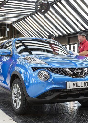 С конвейера сошел миллионный Nissan Juke