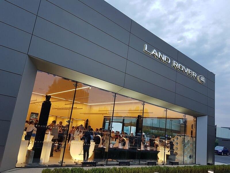 Новый автоцентр Jaguar Land Rover Київ Захід в Киеве