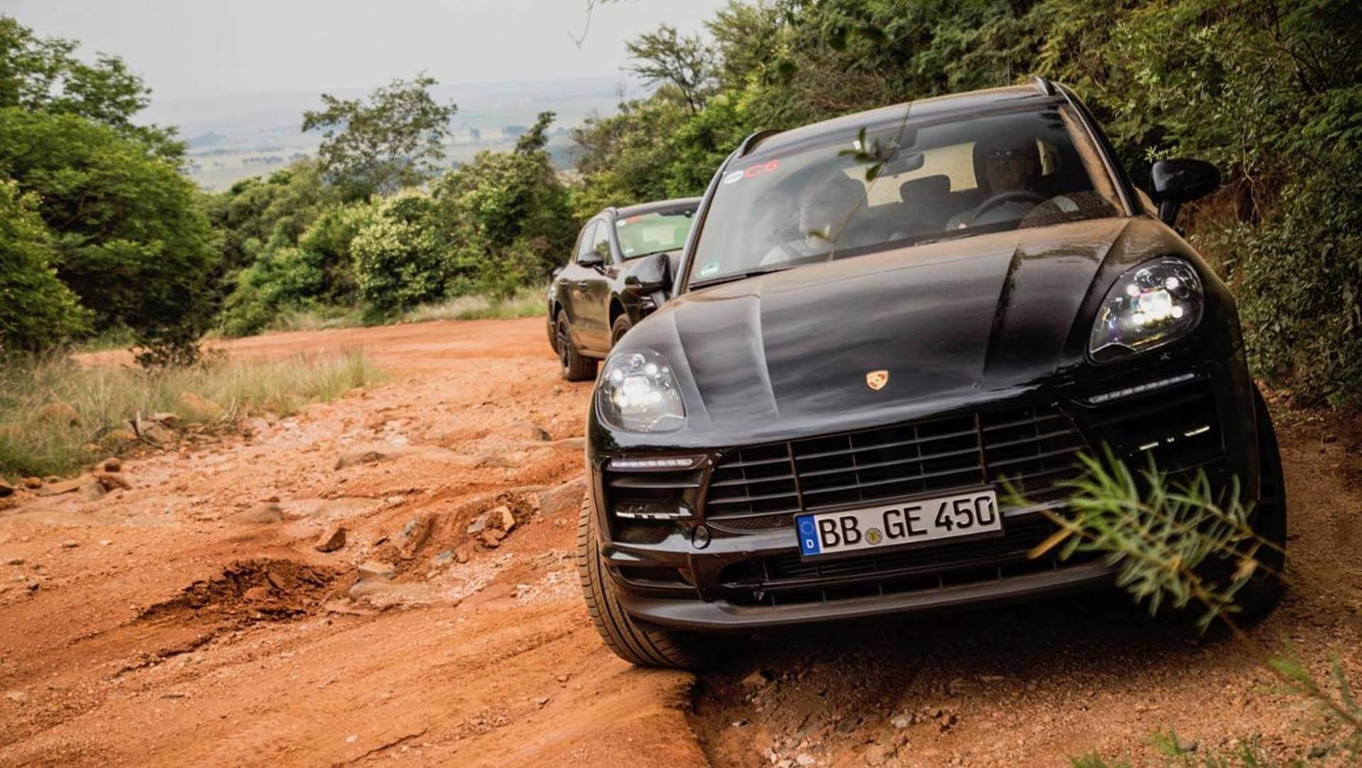 Porsche Macan: испытание бездорожьем