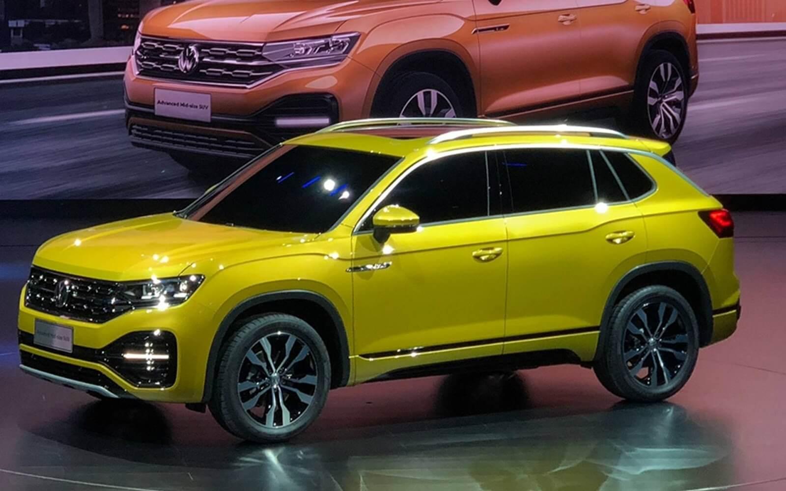 Запущено производство нового кроссовера Volkswagen Tayron
