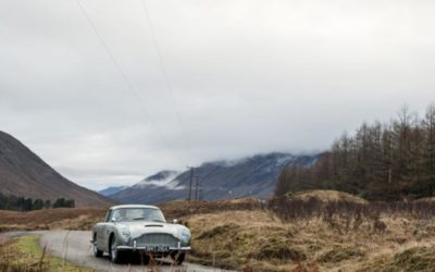 Aston Martin заново воссоздает 25 DBB как у Джеймса Бонда