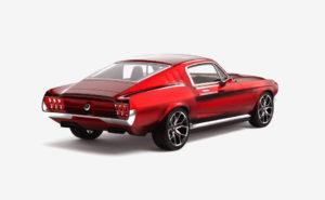 российский стартап EV Aviar Motors запрыгнул на борт с полностью электрическим фастбэком Mustang 1967
