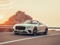 Bentley Continental обнародовал снимки и цены на новый кабриолет