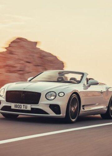 Bentley Continental обнародовал снимки и цены на новый кабриолет