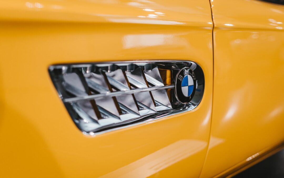 BMW первым использует новую технологию